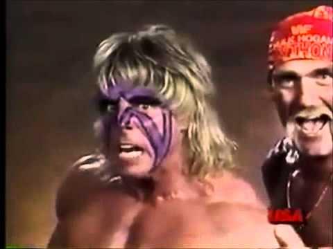 Hulk Hogan and The Ultimate Warrior Promo