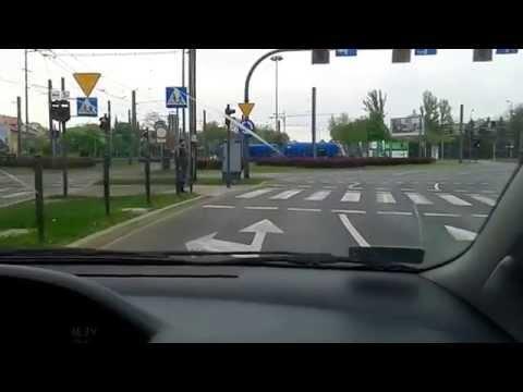 Zawracanie Na Rondzie Grzegorzeckim Od Mostu Kotlarskiego Trasy Egzaminacyjne Prawo Jazdy Kraków