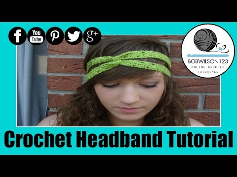 Crochet Headband Twist Tutorial Easy