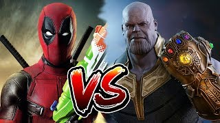Who Would Win: Deadpool Vs Thanos