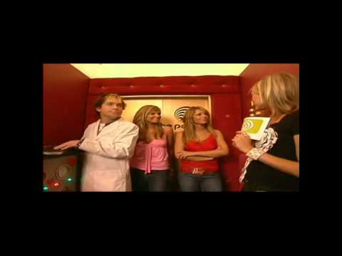 Cheryl Cole & Nadine Coyle : In The Lift