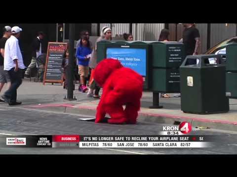SF police crack down on 'aggressive Elmo