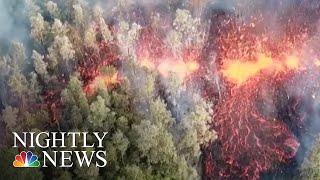 Homes Destroyed, Toxic Gas Concerns Amid Hawaii Volcano Emergency | NBC Nightly News