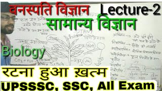 सामान्य विज्ञान #General Science#Most Important Que#Part-2 Botany !! BIOLOGY#