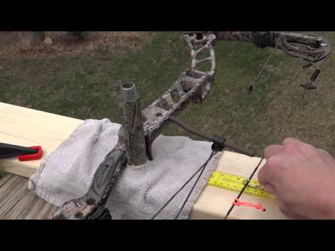 Bow Setup & Tuning (2) -- How to Build a Draw Board