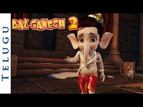 Bal Ganesh 2 - Lord Ganesha Realises His Mistake - Telugu Mythological...