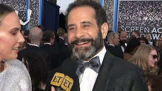 Tony Shalhoub Jokes About 'Marvelous Mrs. Maisel' Season 4 Plot | SAG Awards 2020
