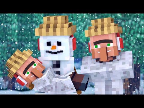 Snowman & Villager Life 2 - Minecraft Animation