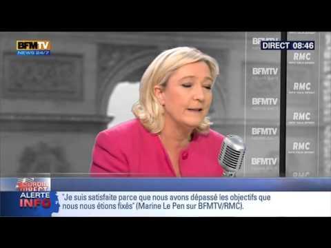Bourdin Direct: Marine Le Pen - 31/03