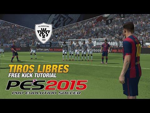 PES2015 | Tutorial Tiros Libres  / Free Kick PES2015