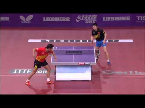 WTTC 2013 Highlights: Ma Long vs Wang Hao (1/2 Final)