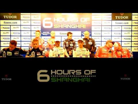 WEC - 2015 6 Hours of Shanghai - Post Qualifying Press Conference