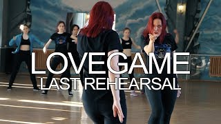 "Lady Gaga ""LoveGame"" Last rehearsal"