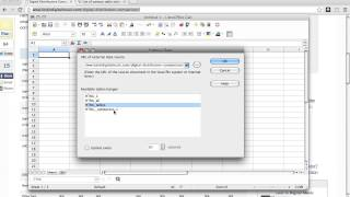 How to extract tabular data from a web page into LibreOffice using