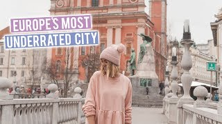 Ljubljana | Europe's Most Underrated City! Slovenia Vlog