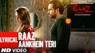 download lagu Raaz Aankhein Teri  Al  Song  Raaz gratis