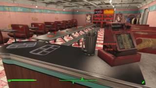 Fallout 4 Sanctuary Cafe