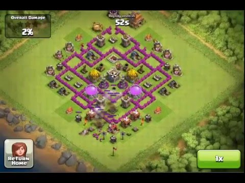 Clash of Clans Townhall 7 Best Base design Layout ( For farming . defense )