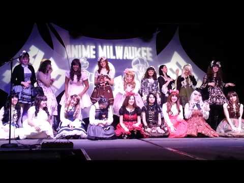 Anime Milwaukee 2014 Lolita Fashion Show Pictures!