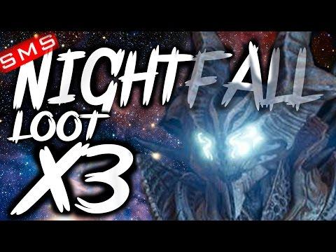 Destiny: Nightfall Loot x3 Characters! (Omnigul, Will of Crota Strike)