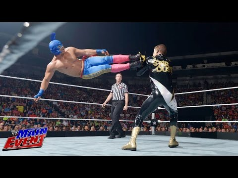 Los Matadores vs. Gold & Stardust: WWE Main Event, Sept. 2, 2014