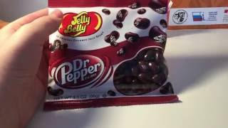 Распаковка Jelly Belly Dr Pepper  + Nerds! Unpacking Jelly Belly Dr Pepper + candy Nerds!