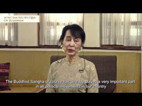 Aung San Suu Kyi Q&A : On Buddhism