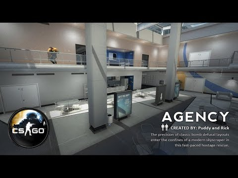 Победа 16-1. Agency. Counter-Strike: Global Offensive