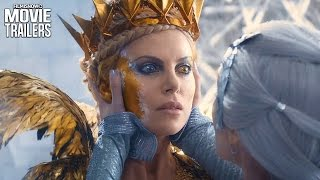 Chris Hemsworth & Charlize Theron star in The Huntsman: Winter