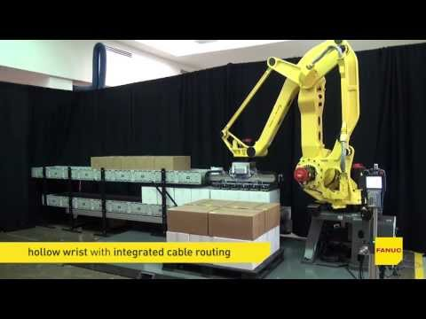Episode 3 – New Robot M-410iC/185: Automated Mixed-Layer & Multi-Case Palletizing