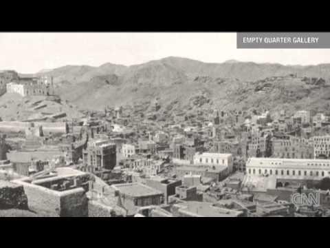Pilgrims in Mecca 1885