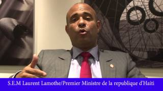 VIDEO: Haiti - Laurent Lamothe di Job yon Palmantè se Vote Lwa, pa Bloke Lwa