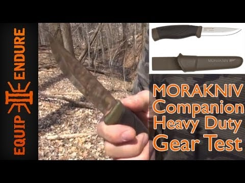 Mora Companion Heavy Duty Test, by Equip 2 Endure