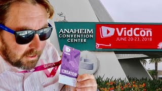 Vidcon 2018 - Anaheim Convention Center + Inside The Creator Lounges / FREE Food
