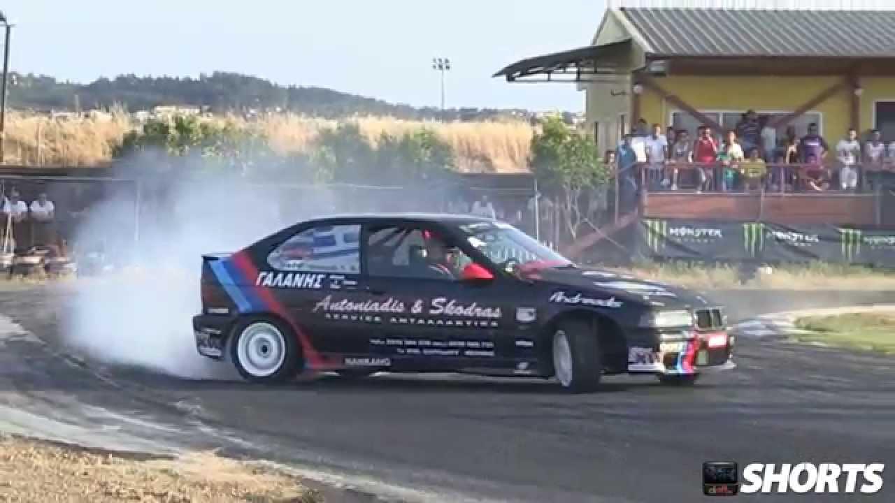Bmw Drifting Car Drift.ro Shorts Bmw E36
