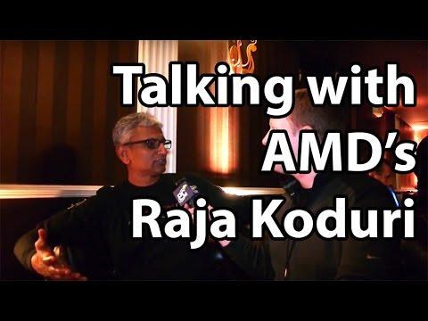 AMD's Raja Koduri talks moving past CrossFire, smaller GPU dies, HBM2 and more.