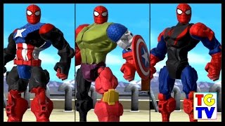 Marvel Super Hero Mashers Spider-Man (Battles Edited) | Mix + Smash