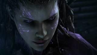 StarCraft II: Heart of the Swarm - The Queen of blades vs Narud HD 1080p