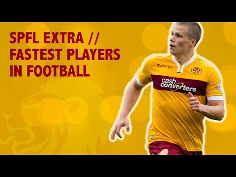 Fastest players in football // SPFL Extra