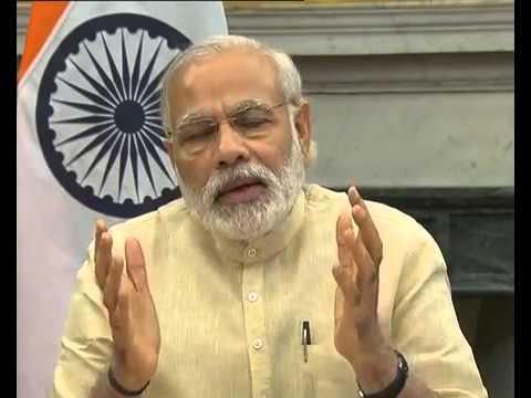 PM Modi witnesses the launch of navigation satellite PSLV C33/IRNSS-1G