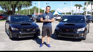 Why does the 2019 Subaru STi cost $10k MORE than the WRX? - Raiti's Rides