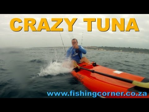 Catching a Crazy Yellowfin Tuna With Shaun Reid