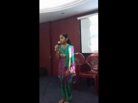 Ente Gramam - Hana Fathima On Krishi Group Jeddah Meet video
