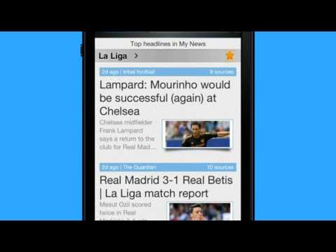 Real Madrid News App - Riversip