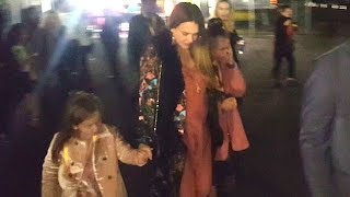 Pregnant Jessica Alba Treats Her Girls To A Night Of Fun At Cirque du Soleil