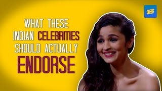 ScoopWhoop: Funny Indian Celebrity Endorsements