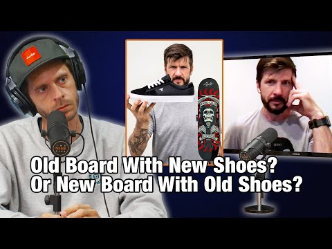 Old Board With New Shoes? Or New Board With Old Shoes? - Chris Cole