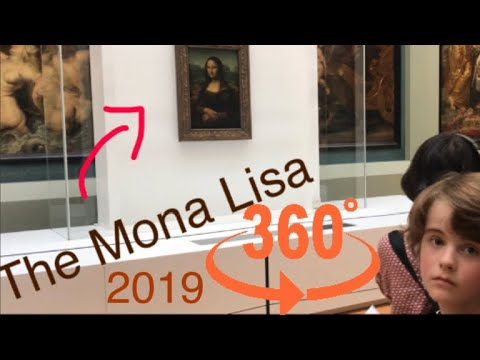 360° VR - Lourve Tour - Mona Lisa Painting Paris France - Andrew Penman EBoard Reviews