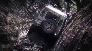 LAND ROVER  DEFENDER  off road Tisovec 2013
