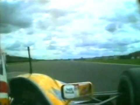 Murray Walker takes us around Silverstone with a lap onboard Nigel Mansell&#039;s FW14B during the 1992 British Grand Prix.
